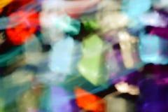 Υπόβαθρο ελαφριών αποτελεσμάτων, αφηρημένο φως backgroun Στοκ Φωτογραφία