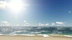 Υπόβαθρο ζωτικότητας γραφικής παράστασης κινήσεων θάλασσας απεικόνιση αποθεμάτων