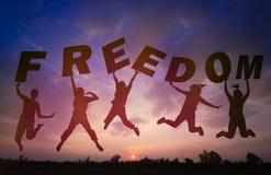 Υπόβαθρο ηλιοβασιλέματος σκιαγραφιών και εργασία ομάδας ελεύθερη απεικόνιση δικαιώματος