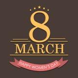 Υπόβαθρο ημέρας γυναικών Στοκ εικόνα με δικαίωμα ελεύθερης χρήσης