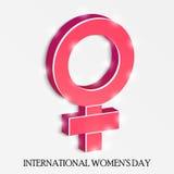 Υπόβαθρο ημέρας γυναικών Στοκ Φωτογραφίες
