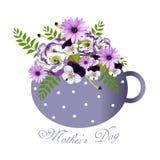 Υπόβαθρο ημέρας μητέρων Ελεύθερη απεικόνιση δικαιώματος