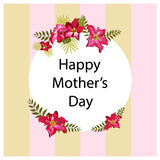 Υπόβαθρο ημέρας μητέρων ` s Ελεύθερη απεικόνιση δικαιώματος