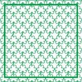 Υπόβαθρο ημέρας StPatrick ` s, στις 17 Μαρτίου τυχερή ημέρα, πράσινα φύλλα Στοκ Εικόνα