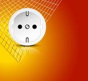 Υπόβαθρο ηλεκτρικής ενέργειας Στοκ εικόνα με δικαίωμα ελεύθερης χρήσης