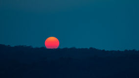 Υπόβαθρο ηλιοβασιλέματος/ανατολής Στοκ Εικόνες