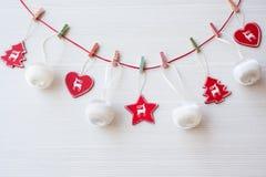 Υπόβαθρο θέματος Χριστουγέννων Στοκ φωτογραφία με δικαίωμα ελεύθερης χρήσης