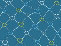 Υπόβαθρο δικτύων καρδιών Στοκ Εικόνες