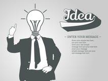 Υπόβαθρο ιδέας επιχειρηματιών Στοκ Εικόνα
