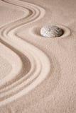 Υπόβαθρο κήπων πετρών περισυλλογής της Zen Στοκ Εικόνες