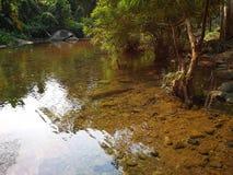υπόβαθρο καθαρού νερού καταρρακτών στοκ εικόνα
