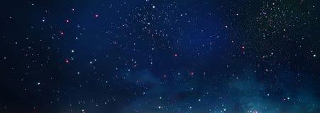 Υπόβαθρο και περίληψη Γαλαξίας, νεφέλωμα και έναστρη σύσταση μακρινού διαστήματος στοκ εικόνες