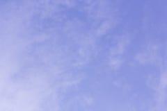 υπόβαθρο και σύσταση ουρανού Στοκ εικόνα με δικαίωμα ελεύθερης χρήσης