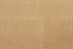 Υπόβαθρο καμβά, σύσταση λινού σχεδίων πλέγματος Στοκ εικόνα με δικαίωμα ελεύθερης χρήσης