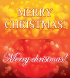 Υπόβαθρο καρτών δώρων Χριστουγέννων Στοκ φωτογραφία με δικαίωμα ελεύθερης χρήσης
