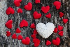Υπόβαθρο καρδιών ημέρας βαλεντίνων Στοκ φωτογραφίες με δικαίωμα ελεύθερης χρήσης