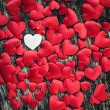 Υπόβαθρο καρδιών ημέρας βαλεντίνων Στοκ εικόνα με δικαίωμα ελεύθερης χρήσης