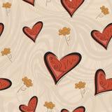 Υπόβαθρο καρδιών Στοκ Εικόνα