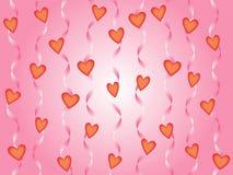 Υπόβαθρο καρδιών Στοκ φωτογραφία με δικαίωμα ελεύθερης χρήσης