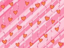 Υπόβαθρο καρδιών Στοκ εικόνα με δικαίωμα ελεύθερης χρήσης