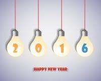 2016 υπόβαθρο καλής χρονιάς διάνυσμα απεικόνιση Στοκ φωτογραφίες με δικαίωμα ελεύθερης χρήσης