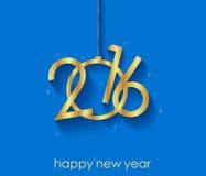 2016 υπόβαθρο καλής χρονιάς Στοκ Εικόνες