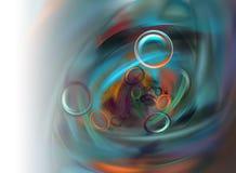 Υπόβαθρο καλλιτεχνών χρωμάτων απεικόνιση αποθεμάτων