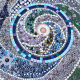Υπόβαθρο κεραμιδιών Mosiac Στοκ φωτογραφία με δικαίωμα ελεύθερης χρήσης