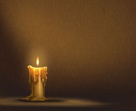 Υπόβαθρο κεριών Στοκ εικόνες με δικαίωμα ελεύθερης χρήσης