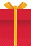Υπόβαθρο κιβωτίων δώρων. Διανυσματικό κόκκινο παρόν illustratio Στοκ φωτογραφίες με δικαίωμα ελεύθερης χρήσης