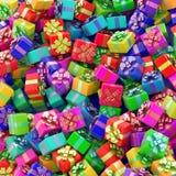 Υπόβαθρο κιβωτίων δώρων Στοκ εικόνα με δικαίωμα ελεύθερης χρήσης