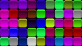 Υπόβαθρο κουμπιών, άνευ ραφής βρόχος διανυσματική απεικόνιση