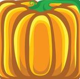 Υπόβαθρο κολοκύθας. Διανυσματική πορτοκαλιά απεικόνιση Στοκ εικόνα με δικαίωμα ελεύθερης χρήσης