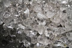 Υπόβαθρο κρυστάλλου χαλαζία Στοκ Εικόνα