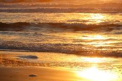 Υπόβαθρο κυμάτων του Ατλαντικού Ωκεανού Στοκ Φωτογραφία
