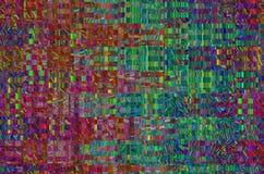 Υπόβαθρο κόσμου δυσλειτουργίας Παλαιό λάθος οθόνης TV Ψηφιακό αφηρημένο σχέδιο θορύβου εικονοκυττάρου Δυσλειτουργία φωτογραφιών Τ Στοκ Εικόνες