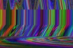 Υπόβαθρο κόσμου δυσλειτουργίας Παλαιό λάθος οθόνης TV Ψηφιακό αφηρημένο σχέδιο θορύβου εικονοκυττάρου Δυσλειτουργία φωτογραφιών Τ Στοκ Εικόνα