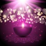 Υπόβαθρο λαμπτήρων Diwali ελεύθερη απεικόνιση δικαιώματος