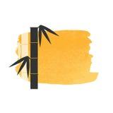 Υπόβαθρο μίσχων μπαμπού Στοκ εικόνα με δικαίωμα ελεύθερης χρήσης