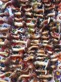 Υπόβαθρο μανιταριών - εποχιακά τρόφιμα από το δάσος Στοκ Εικόνα
