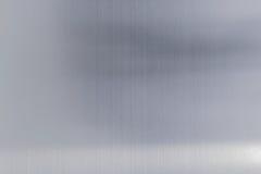 υπόβαθρο μετάλλων σύστασης του βουρτσισμένου πιάτου χάλυβα Στοκ Εικόνα