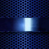 Υπόβαθρο μετάλλων Grunge με το διάστημα αντιγράφων επίσης corel σύρετε το διάνυσμα απεικόνισης Στοκ Φωτογραφίες