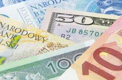Υπόβαθρο με τα μετρητά Στοκ εικόνα με δικαίωμα ελεύθερης χρήσης