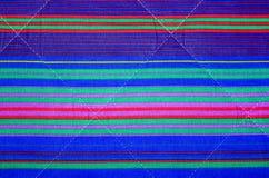Υπόβαθρο με τα πολύχρωμα οριζόντια λωρίδες Στοκ εικόνες με δικαίωμα ελεύθερης χρήσης