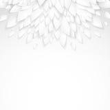 Υπόβαθρο με τα πλαστικά άσπρα φύλλα εγγράφου Στοκ φωτογραφίες με δικαίωμα ελεύθερης χρήσης