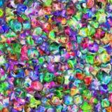 Υπόβαθρο με τα φωτεινά χρωματισμένα σημεία διανυσματική απεικόνιση