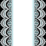 Υπόβαθρο με τα λωρίδες της δαντέλλας και των μαργαριταριών Στοκ εικόνα με δικαίωμα ελεύθερης χρήσης