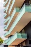 Υπόβαθρο με τη λεπτομέρεια του νέου κτηρίου αρχιτεκτονικής Στοκ φωτογραφίες με δικαίωμα ελεύθερης χρήσης