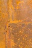 Υπόβαθρο με τη σκουριά στο χάλυβα Στοκ Εικόνες