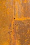 Υπόβαθρο με τη σκουριά στο χάλυβα Στοκ εικόνες με δικαίωμα ελεύθερης χρήσης
